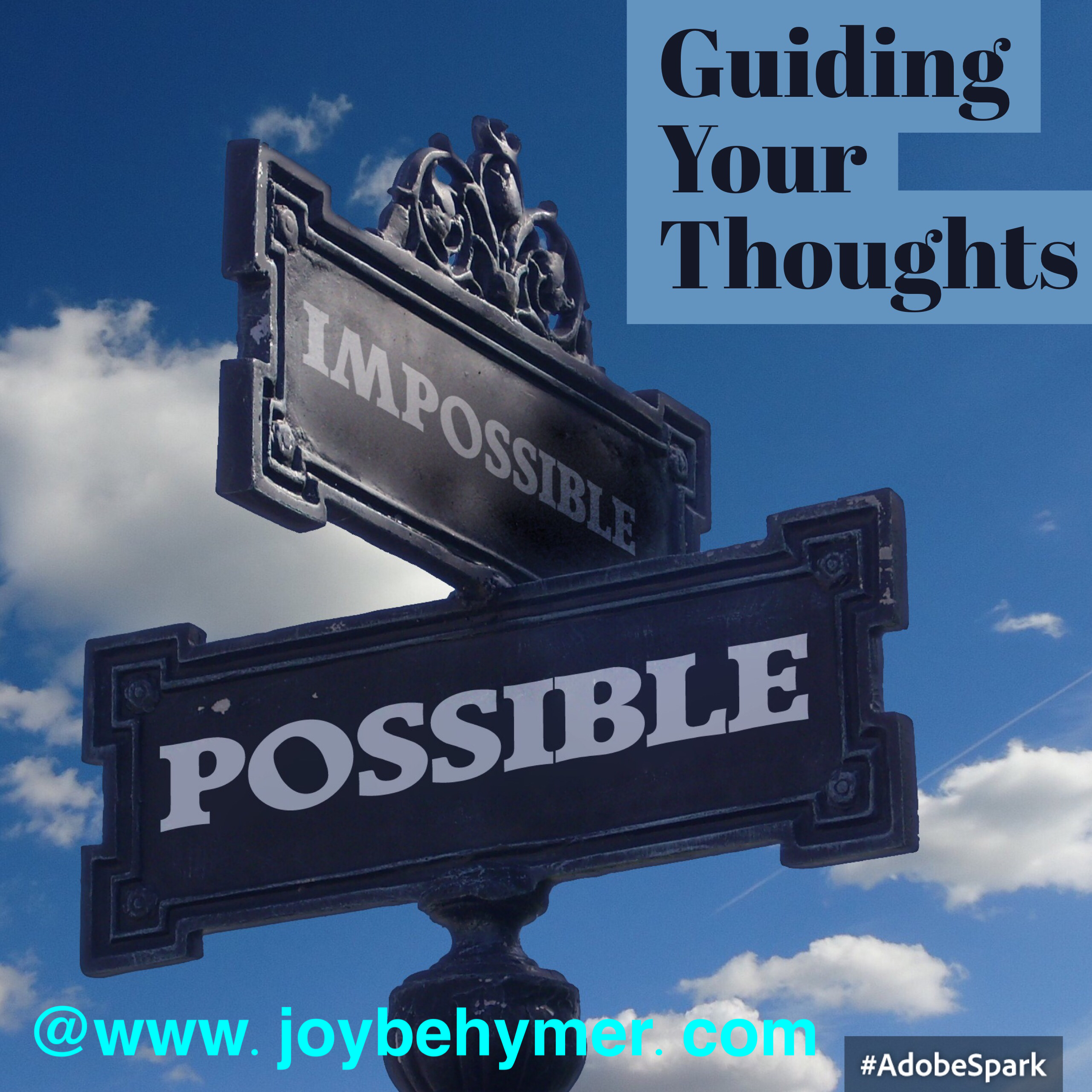 Guiding our thoughts